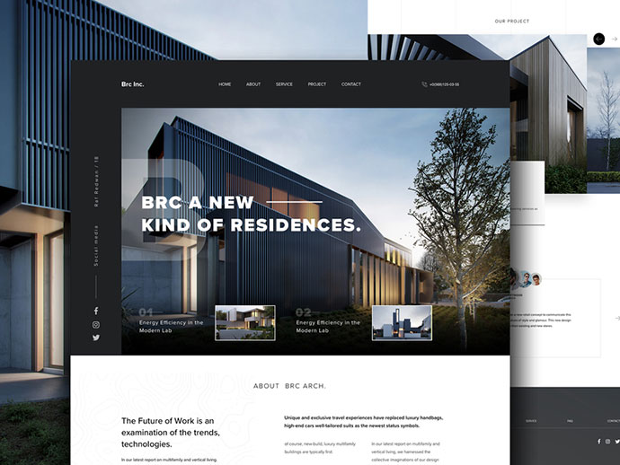 Architecture website