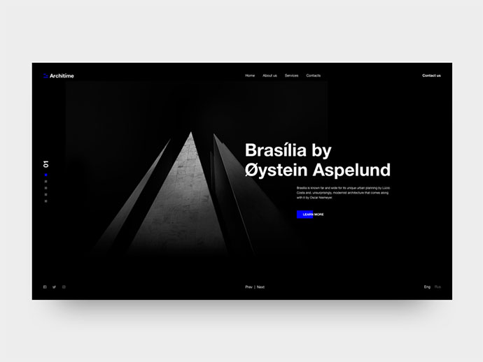 Architime - Architecture Studio Website