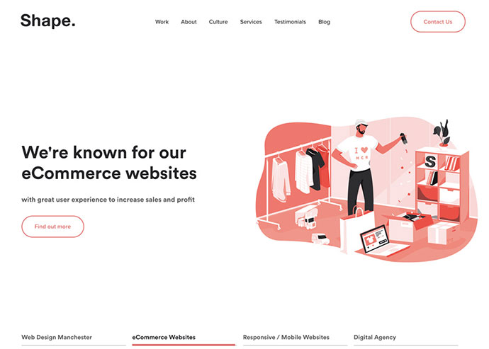 25 awesome examples of blob shapes in web design  u2013 bashooka