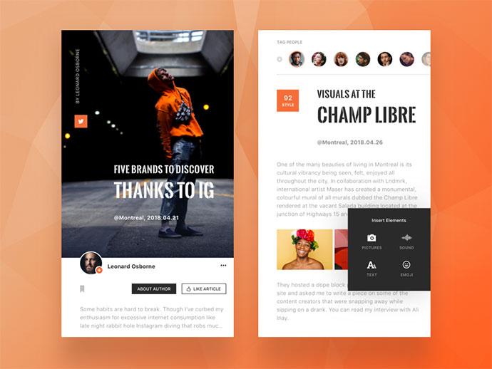 Blog App.