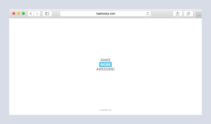 Simple CSS text animation