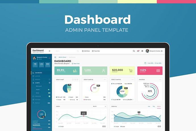 Dashboard Admin Panel Template