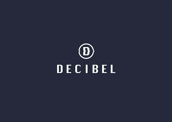 Decibel logo design