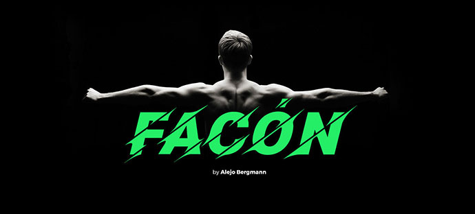 Facon Free Font