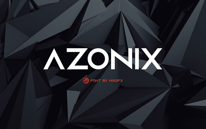Azonix - Free Modern Font