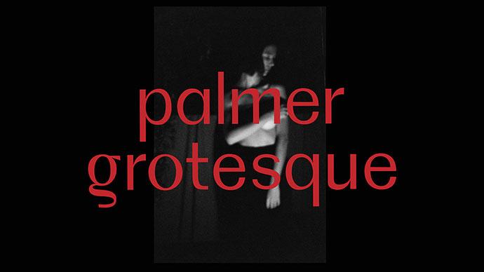 Palmer Grotesque (free typeface)