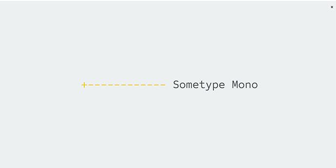 Sometype Mono