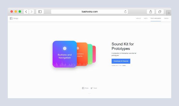 Facebook Sound Kit
