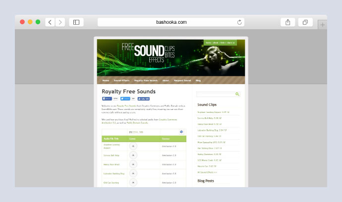 20 Best UI Sound & Music Stock Websites – Bashooka