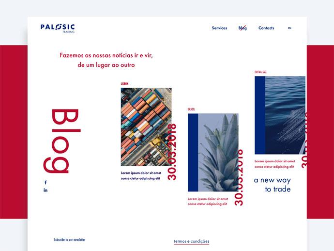 Page Blog - Palosic