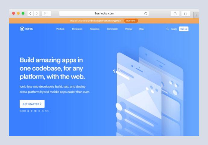 15 Javascript Frameworks For Cross Platform Mobile App