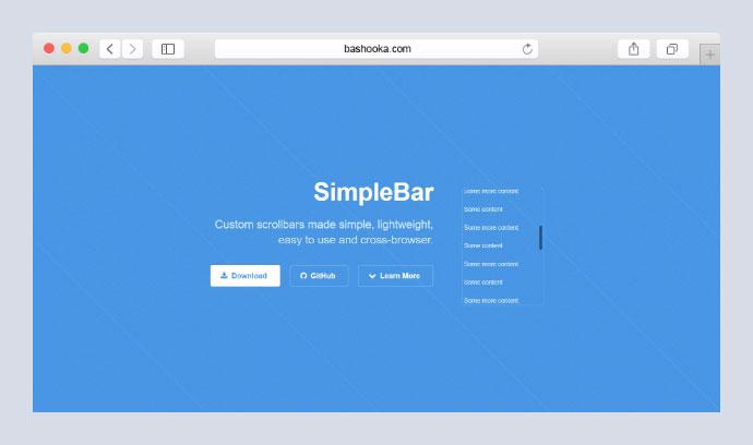 15 Awesome Javascript Scrollbar Plugins – Bashooka