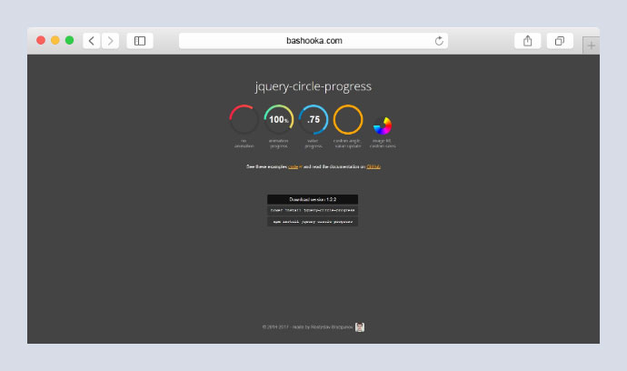 jQuery Circle Progress