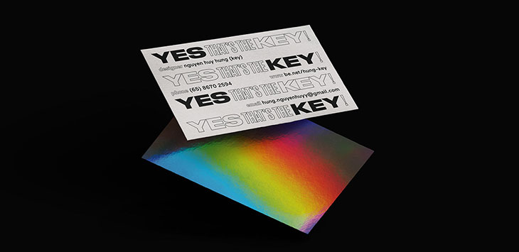 40 Typographic Business Cards That Will Catch Your Eye