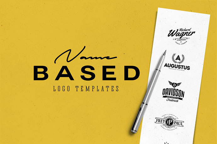 Name Based Logo Templates