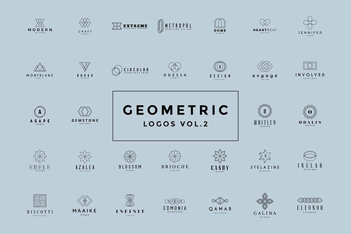 Geometric Logos Vol.2