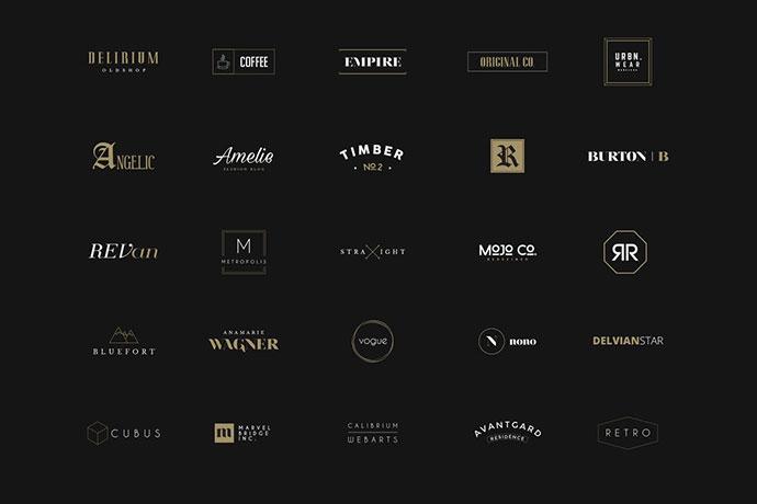 50 Minimal Logos Vol.1