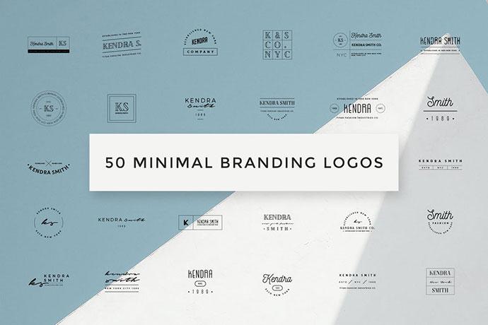 50 Minimal Branding Logos