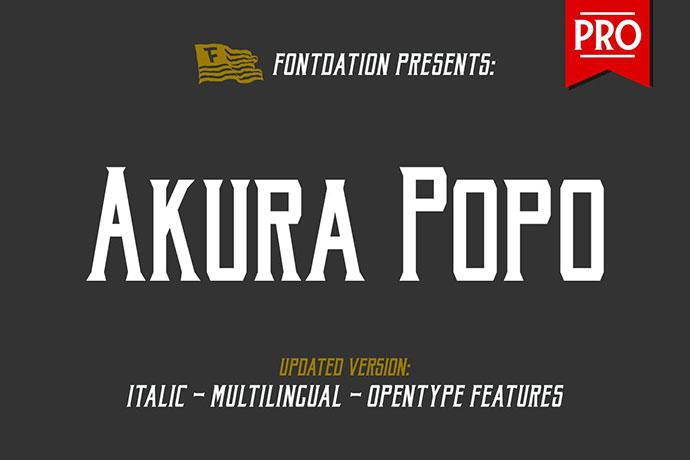 Akura Popo Pro