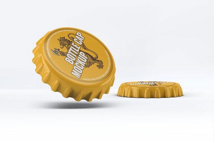 Bottle Cap Mock-Up