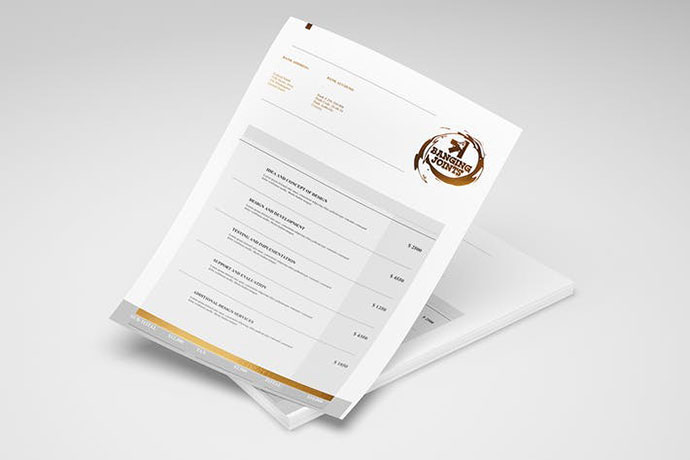 A4 Letterhead / Flyer / Poster Mock-up