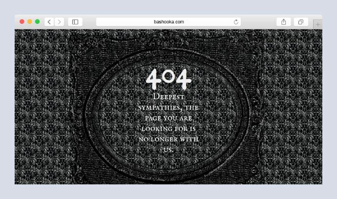 Morbid 404 Page