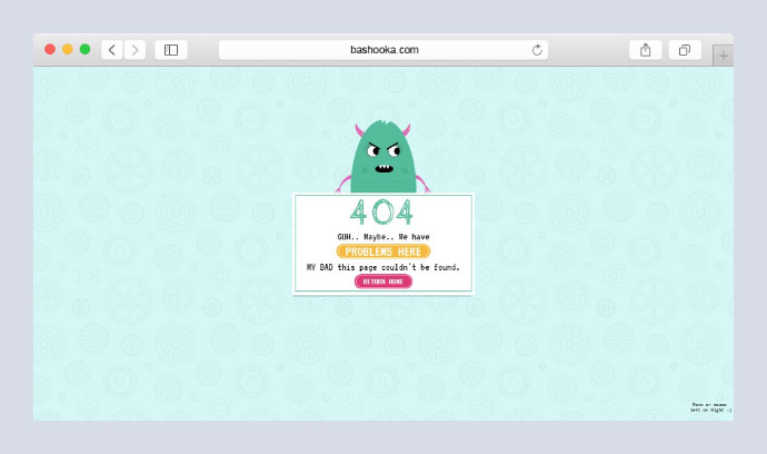 404 Page - CSS Character
