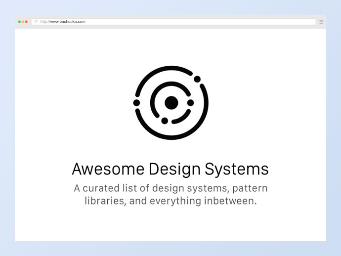 A collection of awesome design systems