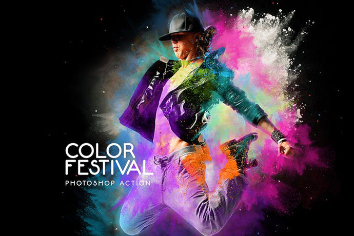 Color Festival Photoshop Action