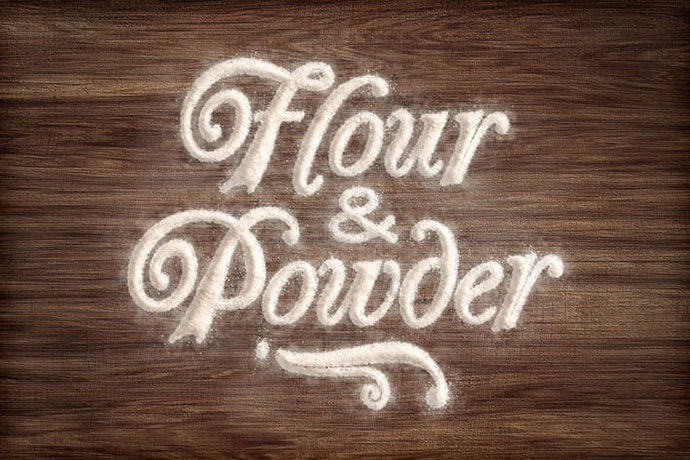 Flour & Powder - Photoshop Actions