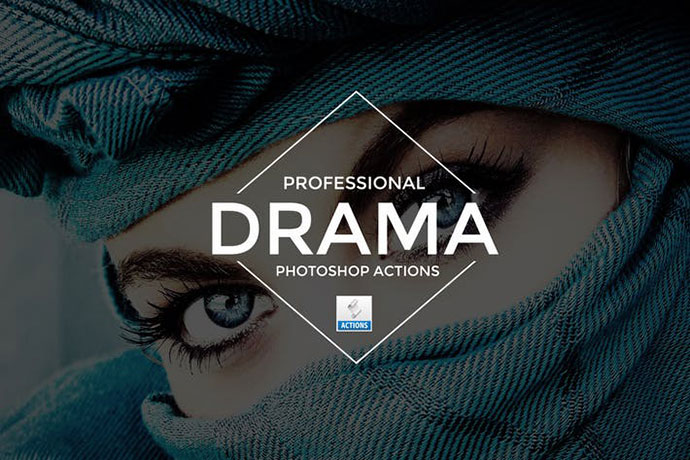 Drama Photoshop Actions