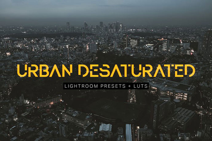Urban Desaturated Lightroom Presets and LUTs