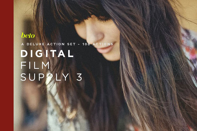 Digital Film Supply 3 Action Bundle