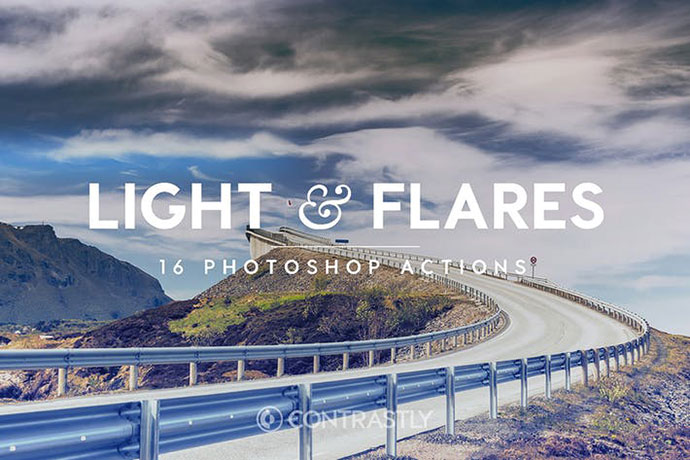 Light & Flares Photoshop Actions