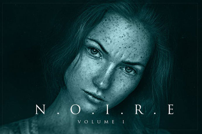 Noire Photoshop Actions Vol 1
