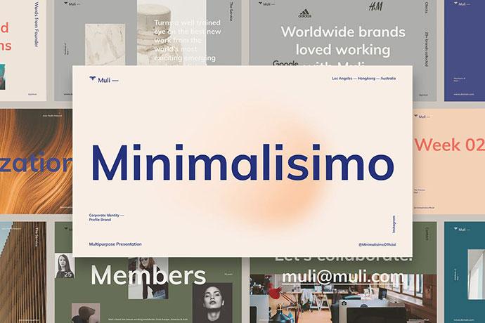 Muli™ Minimalist Presentation