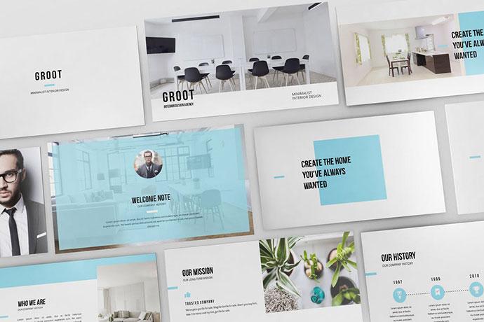 Groot - Interior Design Powerpoint