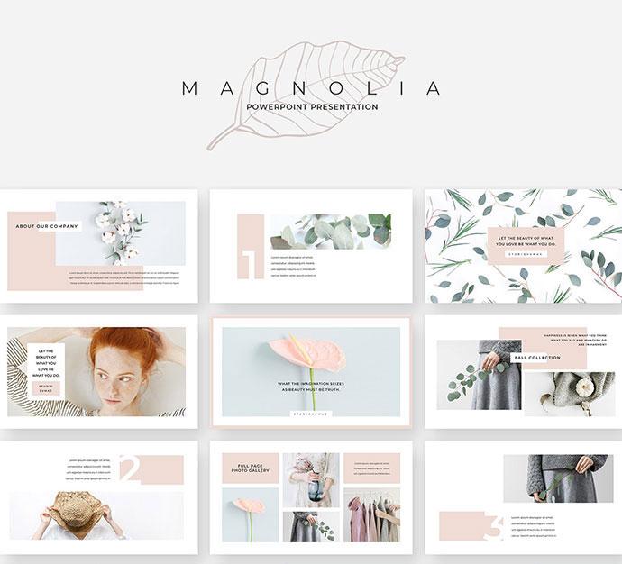 Magnolia PowerPoint Presentation