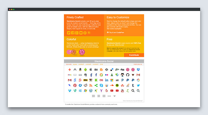 25 Useful Social Sharing Icons & Buttons | CSS SVG – Bashooka