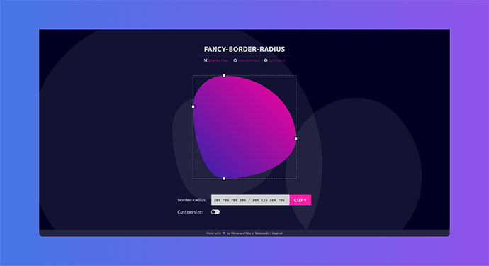 CSS Border-Radius Can Do That?