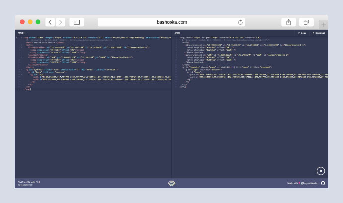 SVG to JSX with GUI