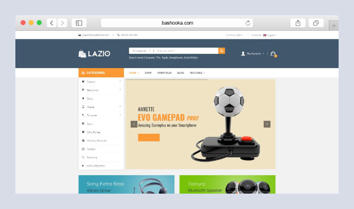 Lazio - Toys and Game Accessories WordPress Theme