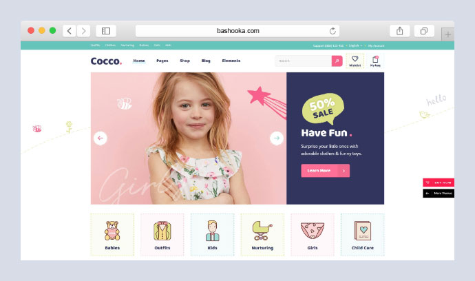 Cocco - Kids Store and Baby Shop Theme