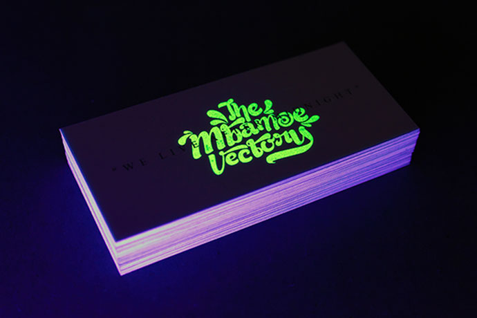 Glow in The Dark Business Card