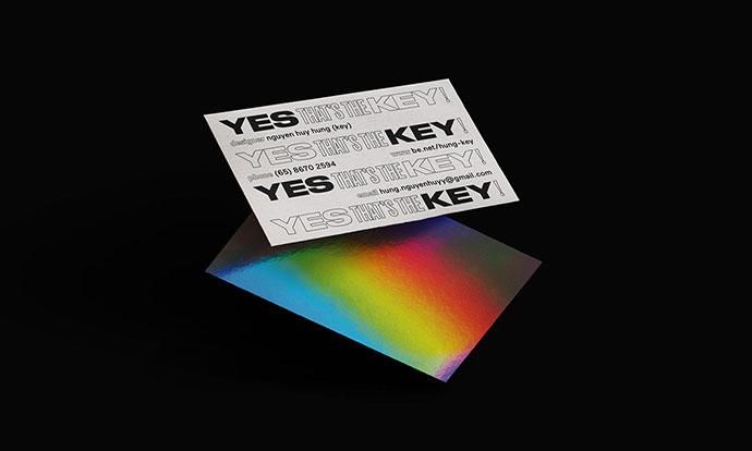 Key, Namecard