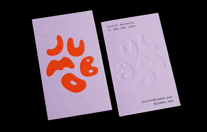 Jumbo Logo & Business Cards