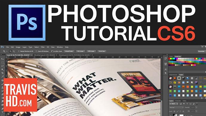Photoshop Magazine Mock Up Tutorial