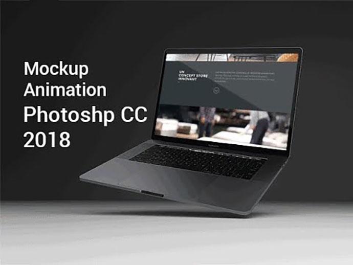 Create 3D Mockup Animation Adobe Photoshop CC
