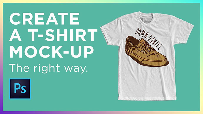 How to Create a T-shirt Mockup