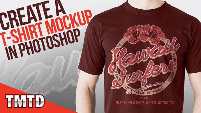 Create a Realistic T-Shirt Mockup in Photoshop